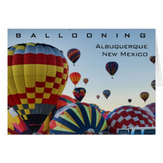 Hot Air Balloon - Ballooning Card