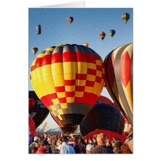 Hot Air Balloon - Ballooning Card