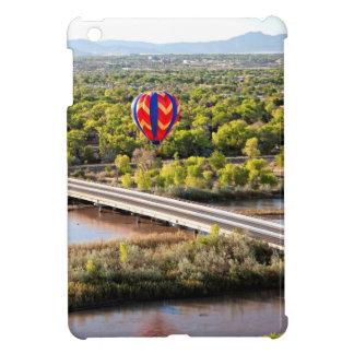 Hot Air Balloon Ballooning Over The Rio Grande iPad Mini Cover
