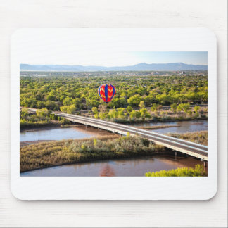 Hot Air Balloon Ballooning Over The Rio Grande Mouse Pad