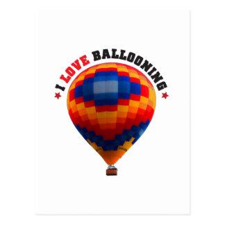 Hot Air Balloon - Ballooning Postcard