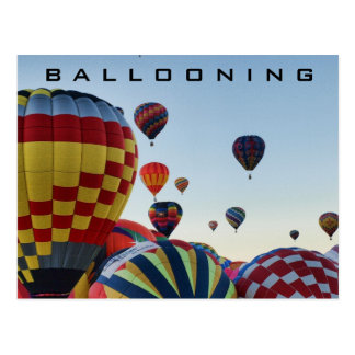 Hot Air Balloon - Ballooning Postcard