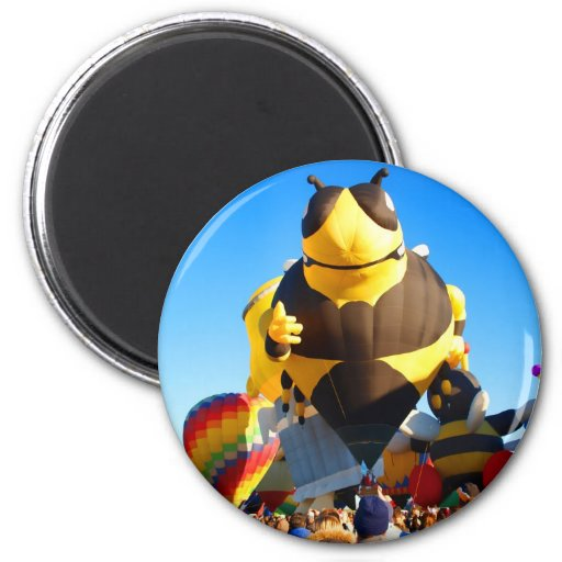 Hot Air Balloon - Ballooning Refrigerator Magnets