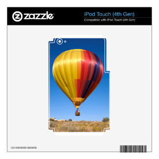 Hot Air Balloon Ballooning Sport Travel Decal For iPod Touch 4G