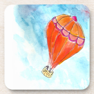 Hot Air Balloon Beverage Coaster
