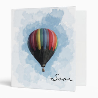 Hot Air Balloon Binder
