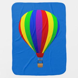 hot air balloon blanket swaddle blanket