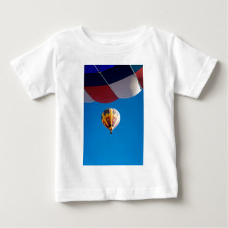 Hot Air Balloon Blue Sky Albuquerque New Mexico Baby T-Shirt
