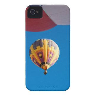 Hot Air Balloon Blue Sky Albuquerque New Mexico iPhone 4 Case