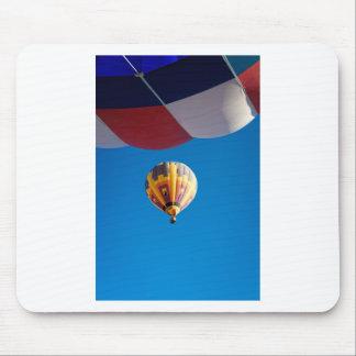 Hot Air Balloon Blue Sky Albuquerque New Mexico Mouse Pad
