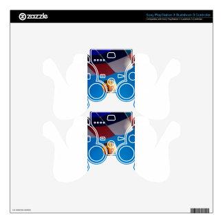 Hot Air Balloon Blue Sky Albuquerque New Mexico Skin For PS3 Controller