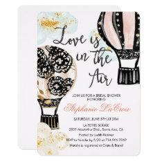 Hot Air Balloon Bridal Shower Invitation at Zazzle