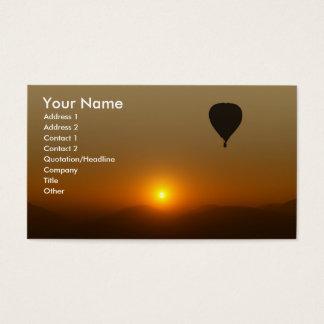 Hot Air Balloon Business Card