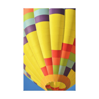 Hot Air Balloon Close Up Canvas Print