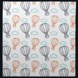 "Hot Air Balloon Cloth Napkin<br><div class=""desc"">Get away from it all in a hot air balloon</div>"