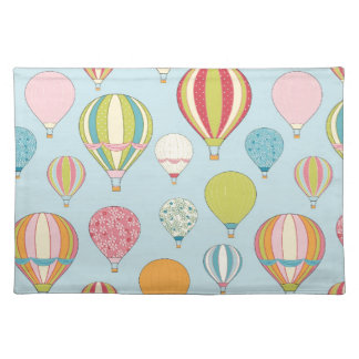 Hot Air Balloon Cloth Placemat