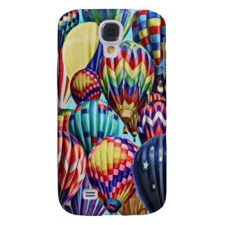 Hot Air Balloon Collage 3G/3GS  Galaxy S4 Cases