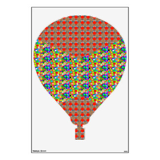 HOT air BALLOON Color Tone and Jewel by NAVIN Room Stickers