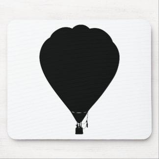 Hot air balloon design mouse pad