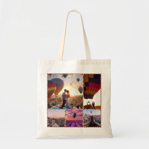 hot air balloon edit tote bag