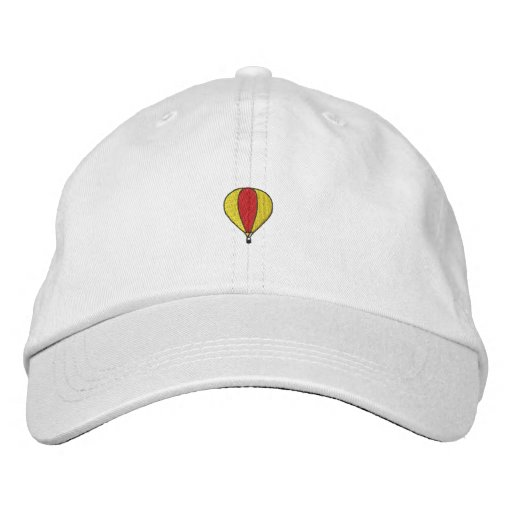 Hot Air Balloon Embroidered Baseball Hat