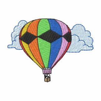 Hot Air Balloon Embroidered Polo Shirt