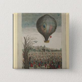Hot-Air Balloon Experiment Pinback Button