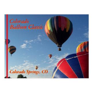 Hot Air Balloon Festival II Post Card