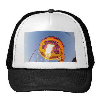 hot air balloon fire trucker hat