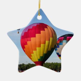 Hot Air Balloon Flight Festival Decatur Alabama Ceramic Ornament