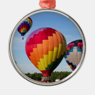 Hot Air Balloon Flight Festival Decatur Alabama Metal Ornament