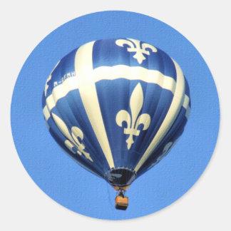 Hot Air Balloon Gatineau Festival! Classic Round Sticker
