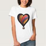hot air balloon heart T-Shirt