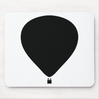 hot-air balloon icon mouse pad