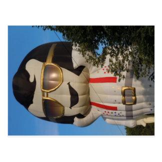 Hot air balloon in Binghamton, NY Postcard