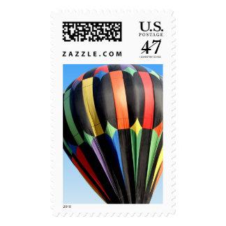 Hot Air Balloon In Flight Postage