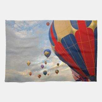 Hot Air Balloon in Reno Nevada Hand Towel