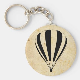 hot air balloon key chain