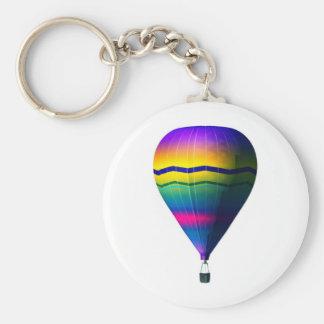 hot air balloon keychain