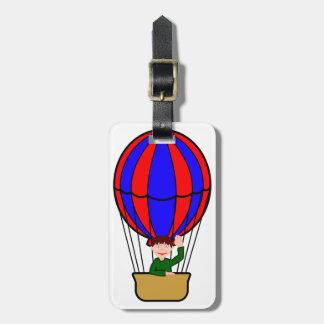 Hot Air Balloon Luggage Tags
