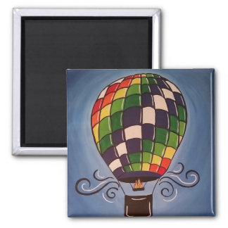 Hot Air Balloon Magnet