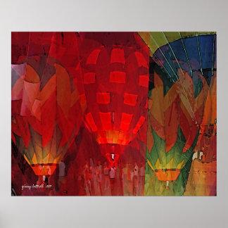 Hot Air Balloon Mania print