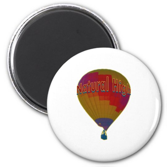 Hot air balloon - Natural High Magnet