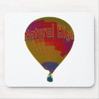 Hot air balloon - Natural High Mouse Pad