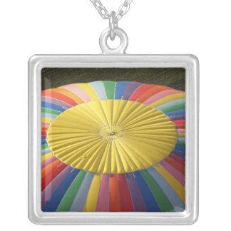 Hot-air Balloon, near Methven, Canterbury 2 Silver Plated Necklace