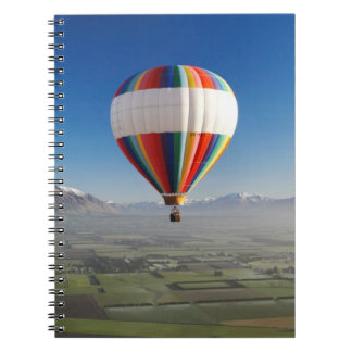 Hot-air Balloon, near Methven, Canterbury 3 Notebook