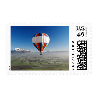 Hot-air Balloon, near Methven, Canterbury 3 Postage Stamps
