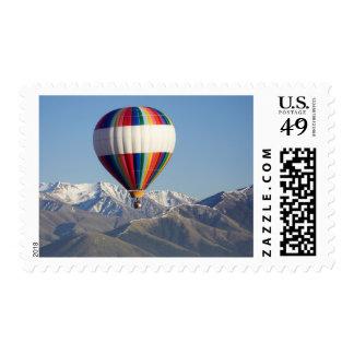 Hot-air Balloon, near Methven, Canterbury Postage Stamps
