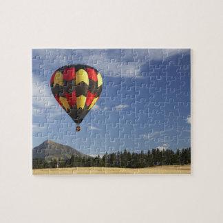 Hot Air Balloon near Wanaka, South Island, New Jigsaw Puzzle
