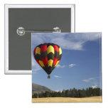 Hot Air Balloon near Wanaka, South Island, New Pinback Button